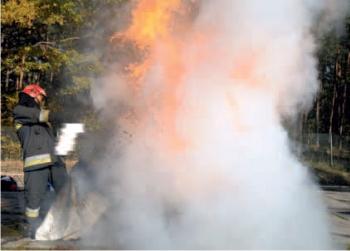 Gaśnica ABF nr 3 – bardzo niepokojące efekty gaszenia