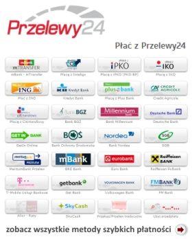 Szybkie przelewy w fireshop.pl